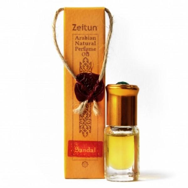 Парфюмерное масло «Сандал» №4 ролл-он