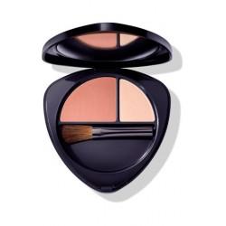 Румяна для лица двойные 01 нежный абрикос (Blush Duo 01 soft apricot)