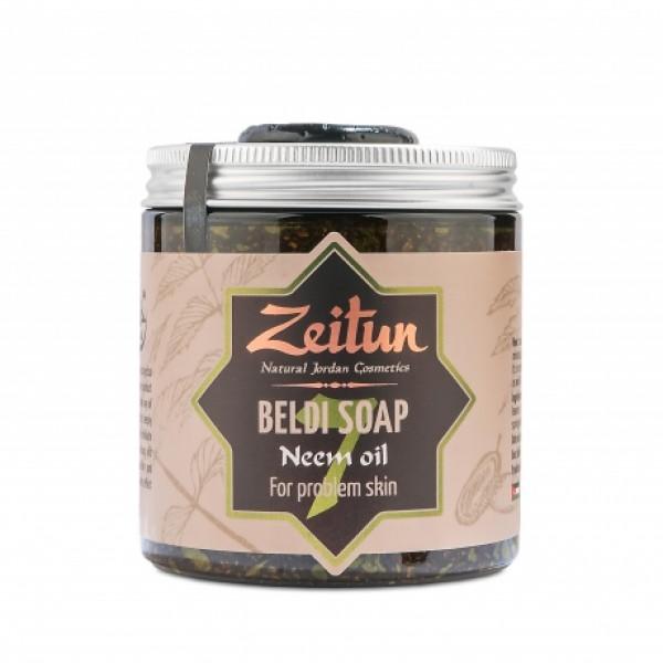 Деревенское мыло №7 с маслом нима — для проблемной кожи
