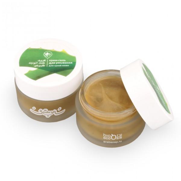 Крем-гель для умывания для сухой кожи