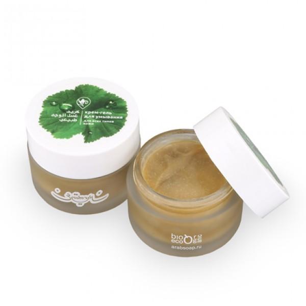 Крем-гель для умывания для всех типов кожи