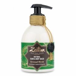 """Жидкое крем-мыло для рук и тела """"Чувственный купаж"""": сандал, бергамот и жасмин"""