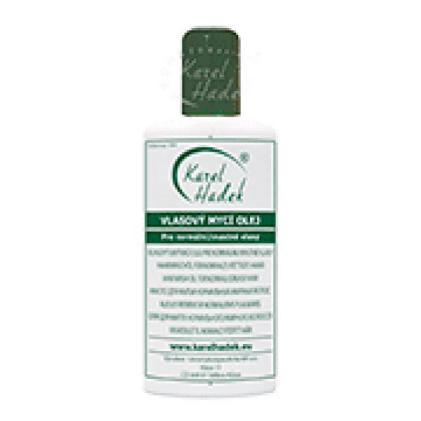 Mасло для мытья жирных и нормальных волос
