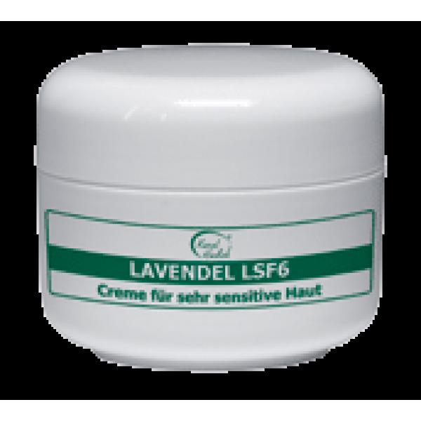 Регенерационный крем лавандовый Lavendel SPF 6