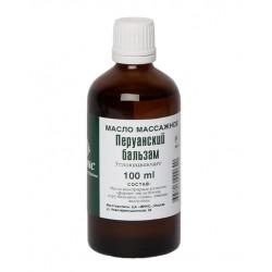 Массажное масло «перуанский бальзам», 100 мл