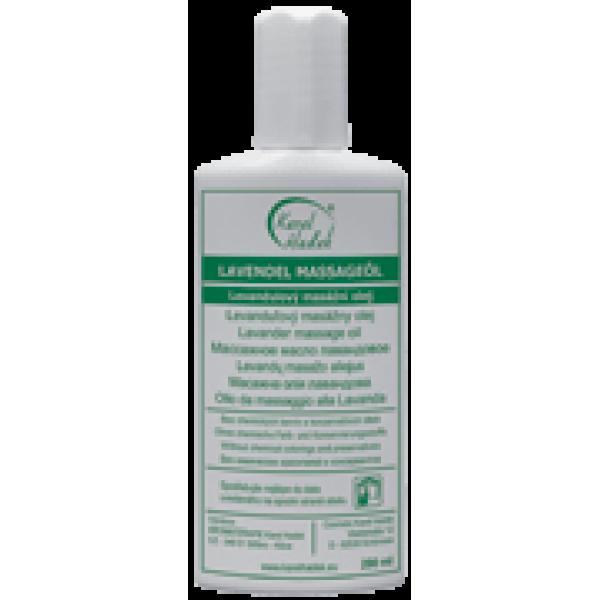 Массажное масло лавандовое (успокаивающее), 100 мл