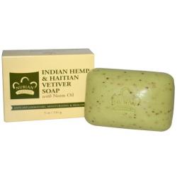 Мыло с коноплей, ветивером и маслом ниима, 141 г