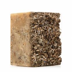 Алеппское мыло премиум №1 — скраб с лавандой