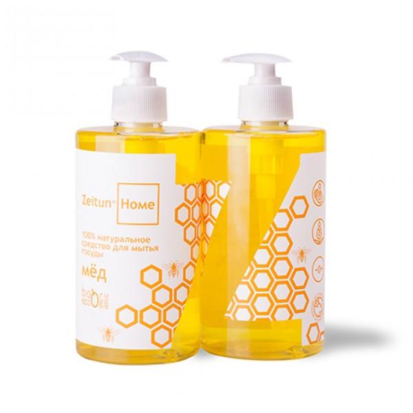Натуральное средство для мытья посуды - мёд
