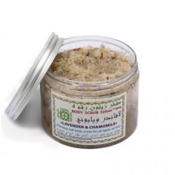 Антистрессовый солевой скраб №4 Лаванда и ромашка