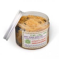 Питательный сахарный скраб №6 Ваниль и мак
