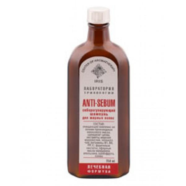 Cеборегулирующий шампунь для жирных волос «Anti-sebum», 250 мл