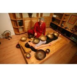 Тибетский виброзвуковой массаж чашами